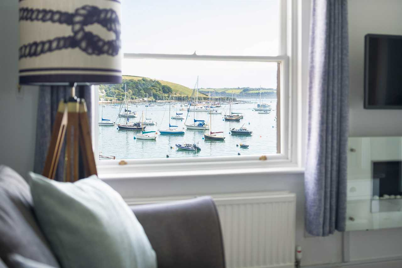 Sea view holiday cottage in Falmouth
